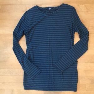 Striped Gapfit Maternity Workout Shirt